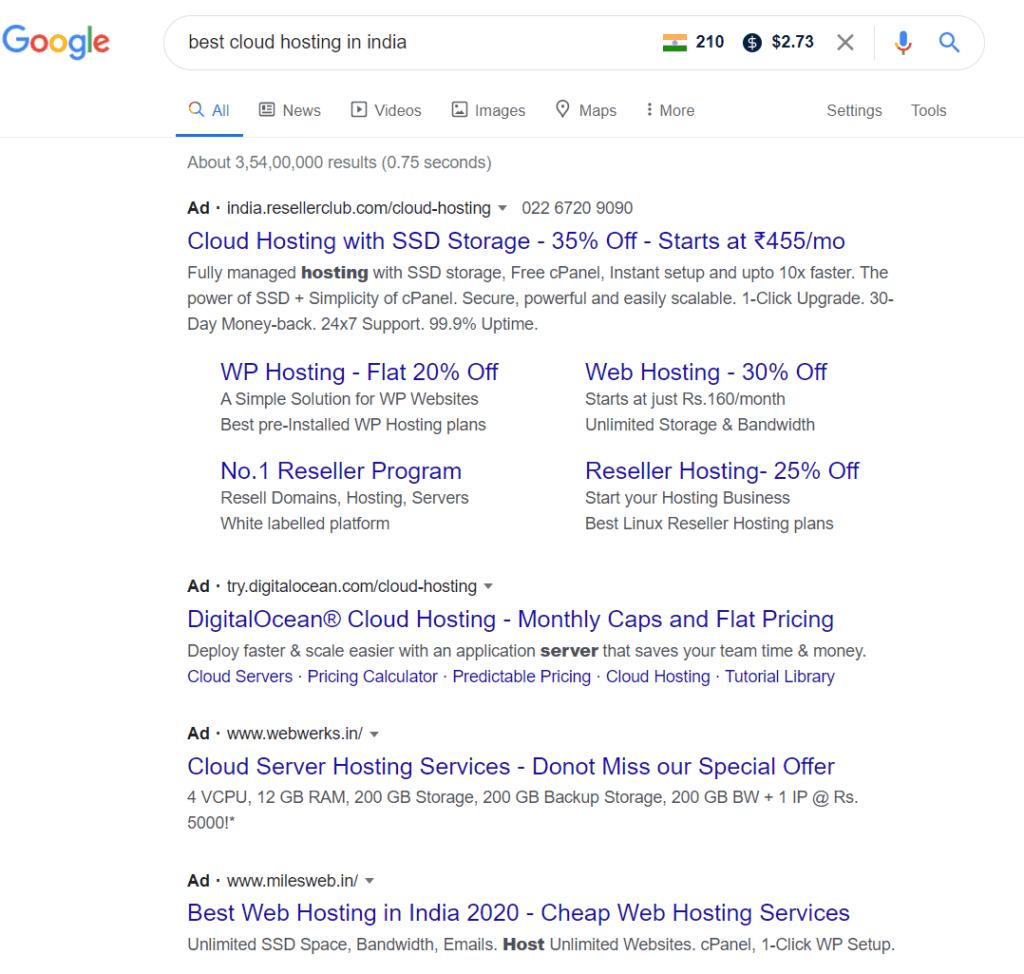 Analyze keyword difficulty on Google
