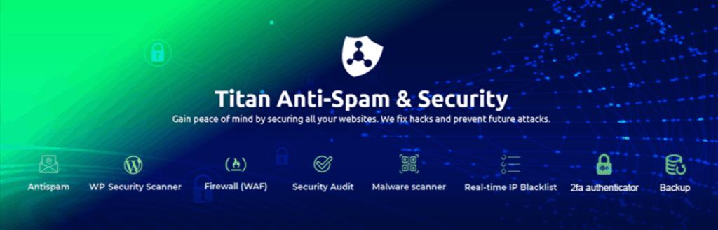 Titan Anti-spam & Security plugin for wordpress