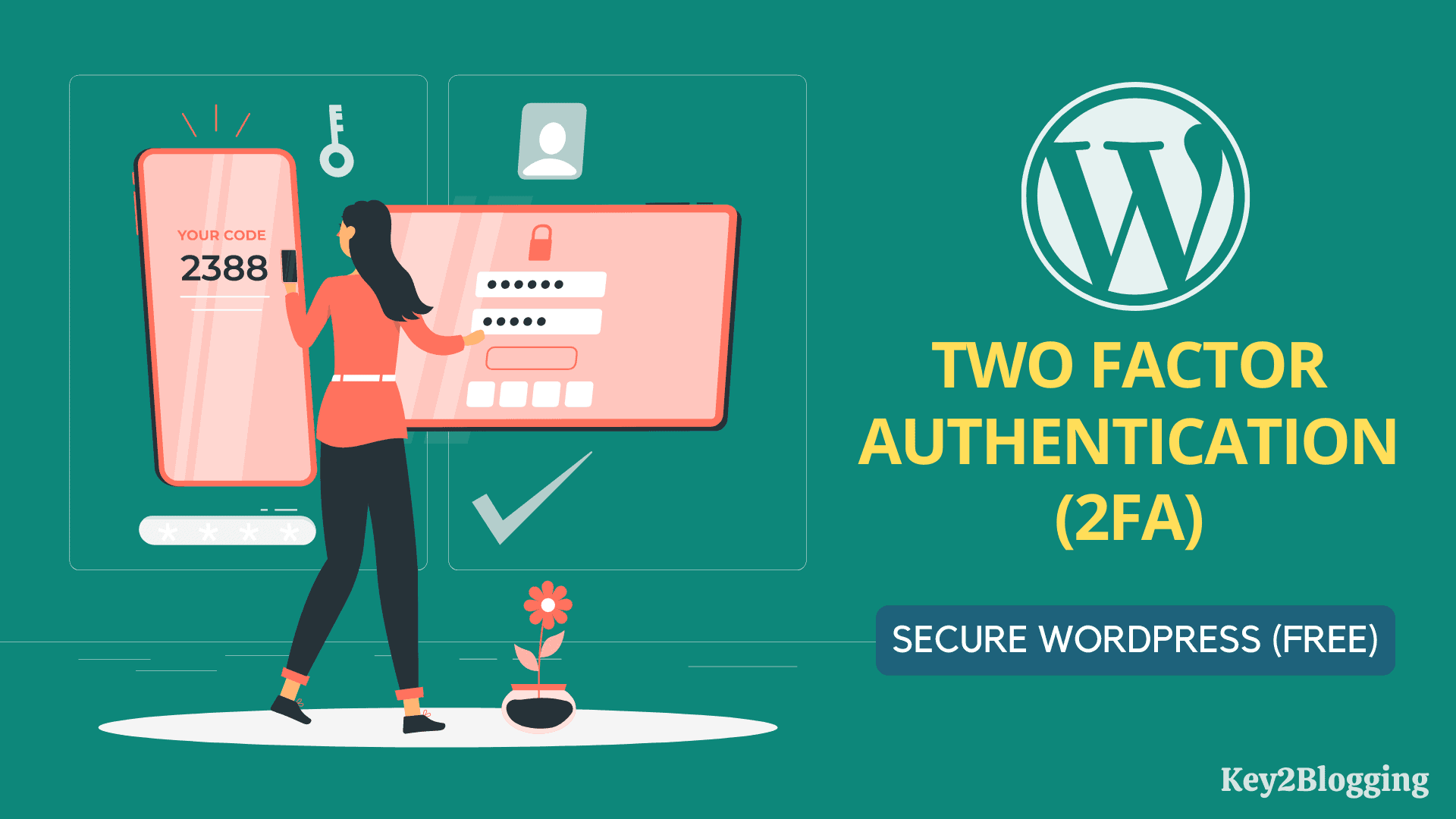 How to enable two factor authentication in WordPress for free